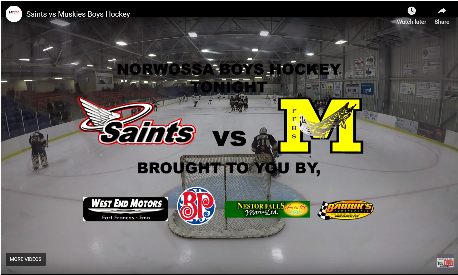 Saints vs Muskies 11/26/19