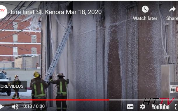 Kenora First Street Fire