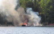 Boathouse Fire