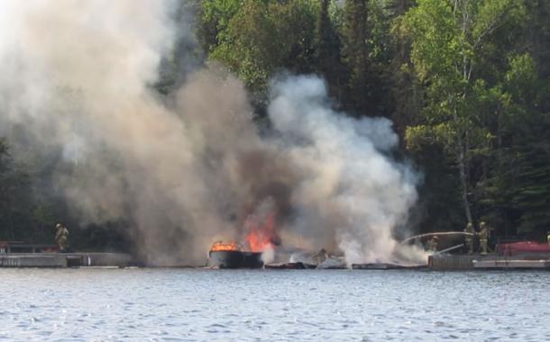 Boathouse Fire