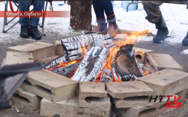 Sacred fire burns in Kenora