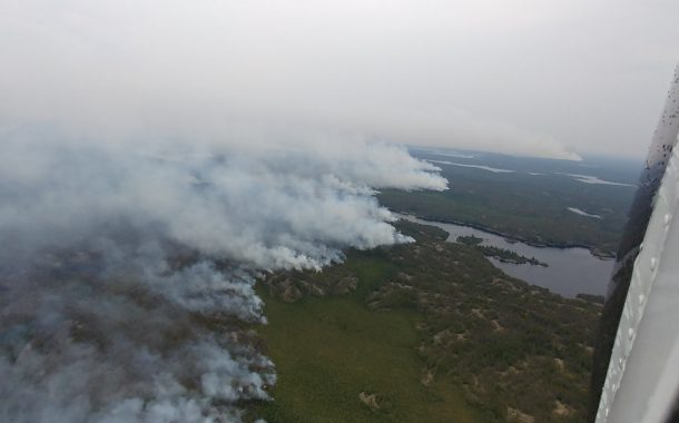 Hundreds of Wabaseemoong residents evacuated due to Kenora 51 fire